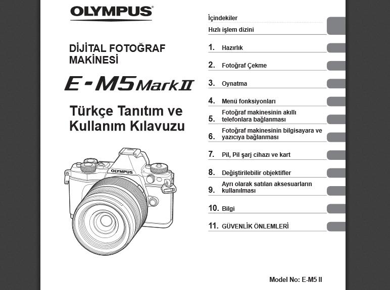 om d e m1 manual pdf